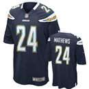 Los Angeles Chargers - R. Mathews #24 Home Jersey