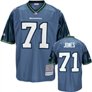Seattle Seahawks - W. Jones #71 Vintage Jersey