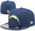 San Diego Chargers - On Field Cap 5950
