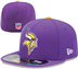 Minnesota Vikings - On Field Cap 5950