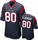 Houston Texans - A. Johnson #80 Home Jersey