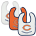 Chicago Bears - Baby Bib - 3 Pc Set