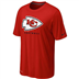 "Kansas City Chiefs - Sideline ""Legend Logo"" T"