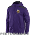 Minnesota Vikings - Nailhead Full-Zip Hoody