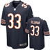 Chicago Bears - C. Tillman #33 Home Jersey