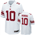 New York Giants - E. Manning #10 Away Jersey
