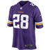 Minnesota Vikings - A. Peterson #28 Home Jersey