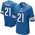 Detroit Lions - R. Bush #21 Home Jersey