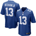 New York Giants - O. Beckham #13 Home Jersey