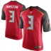 Tampa Bay Buccaneers - J. Winston #3 Home Jersey