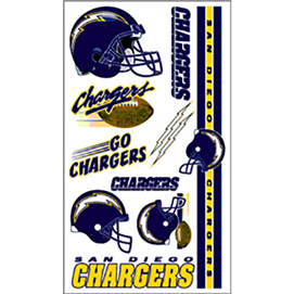 San Diego Chargers - Tattoos