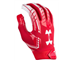 UA 1304694 F6 Gloves Scarlet
