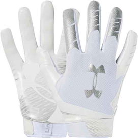 UA 1351541 F7 Gloves White