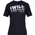 UA 1329587 I Will 2.0 T-Shirt